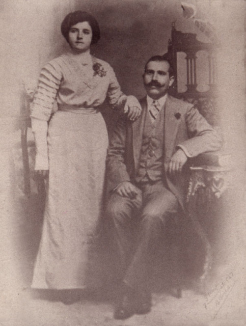 Giovanni y Elvira Anconetani