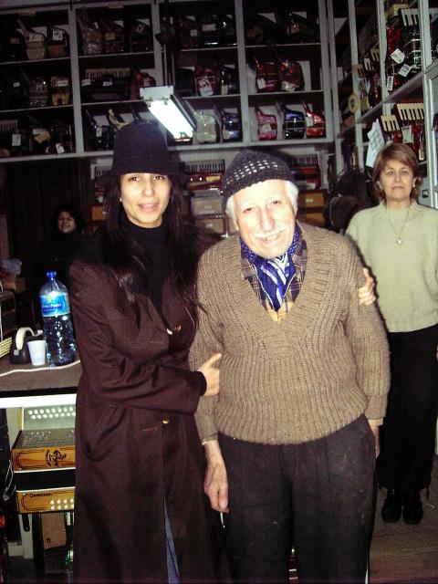 Con Carolina Peleritti