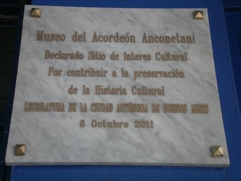 Distinción a nuestro Museo