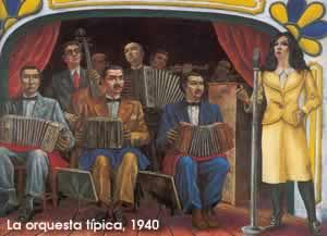 La orquesta típica, Antonio Berni